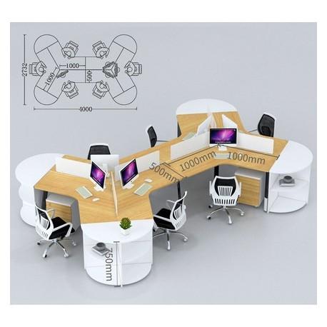 B2B rocking chair  stylé  orange