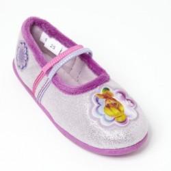 ballerine a elastique violet LA FEE CLOCHETTE