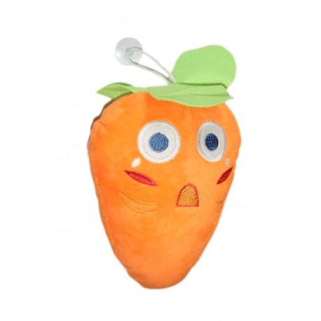 peluche ventouse carotte