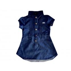 robe en jean bleu MC a elastique DKNY