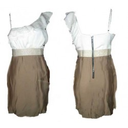 robe doree blanc MANDEE