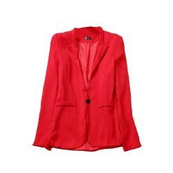 veste avec poche rouge LA BASIQUE