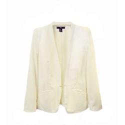veste blanc casse HM