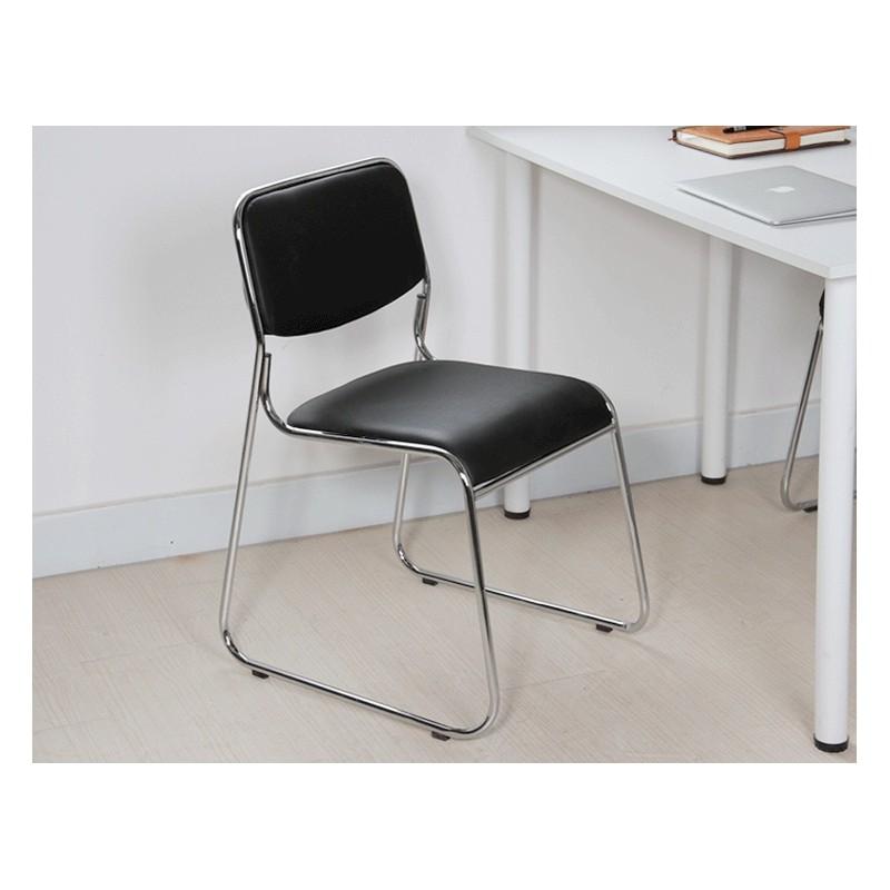 Chaise De Bureau Noir Simili Fabric Sans Accoudoir Cuir 0wymNOv8n