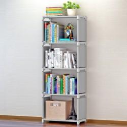 10.18 meuble bibliothèque demontable gris