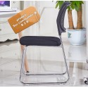 B2B Chaise empilable noir dossier maille