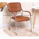B2B chaise capitonne avec accoudoir  pieds metallique