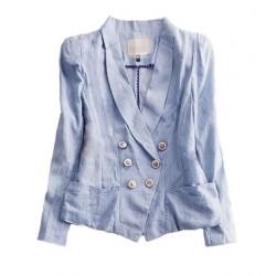 veste bleu ciel LILY