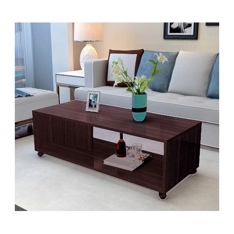 Rabais A Table Basse Salon Melamine Design Epure Marron Marbre Www Fabric Mada Com
