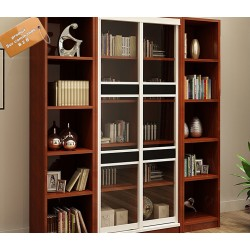 meuble bibliotheque de bureau luxueux 4 modules