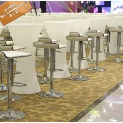 B2B table haute lumineuse (led)
