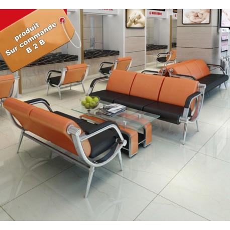 fauteuil de bureau lombaire simili cuir a roulette