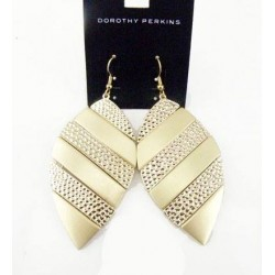 boucle feuille doree DOROTHY PERKINS