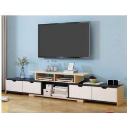 RABAIS B Meuble TV  4 tiroir 3 tons