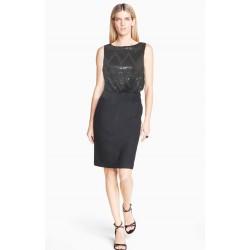 robe noire sequin  SFERA