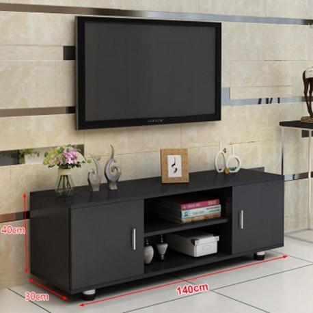 meuble TV melamine style moderne 2 portes
