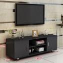 02.19 meuble TV melamine style moderne 2 portes