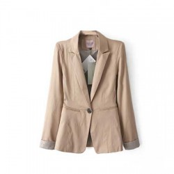 veste ML bouton beige BERSHKA COLLECTION