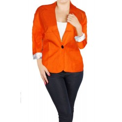 veste fluo orange SHERRY TAYLOR