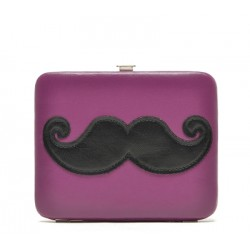 pochette xhilaration mini moustache