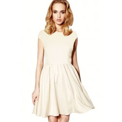 robe cloche beige CAMON