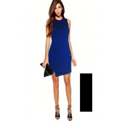 robe sans manche ouverture a 3/4 cote INBDUE WOMAN
