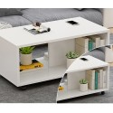 RABAIS B E07.19 table basse salon melamine design epure 80cm
