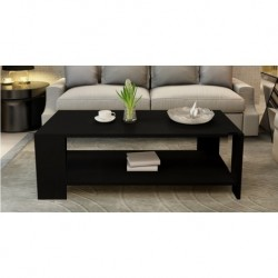 11.19 Table basse rectangulaire 1M noir