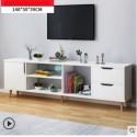 Meuble TV scandinave 1 porte 2 tiroirs  140CM