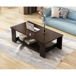 E04.20 Table basse rectangulaire simple 1M noir