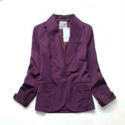 veste  NEWLOOK violet