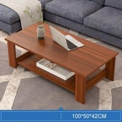 M06.20 Table basse rectangulaire 1M marron acajou