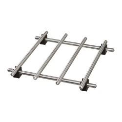 E05.20 Sous-plat acier inoxydable IKEA LAMPLIG 18CM