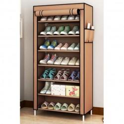 E05.20 Rangement chaussure 21 paires beige fonce