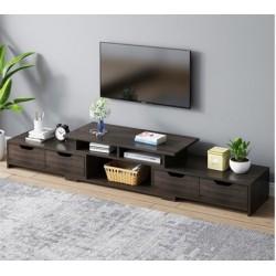 M07.20 Meuble TV 4 tiroirs noir NOUVEAU MODELE