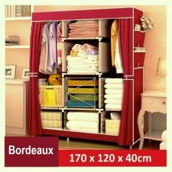 armoire demontable vetement ourson rose fillette