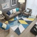 Tapis salon 3D motif asymetrique multicolore 160X230CM