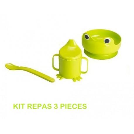 ensemble repas bébé 4 pièces IKEA